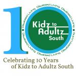Kidz to Adultz South 10 years logo