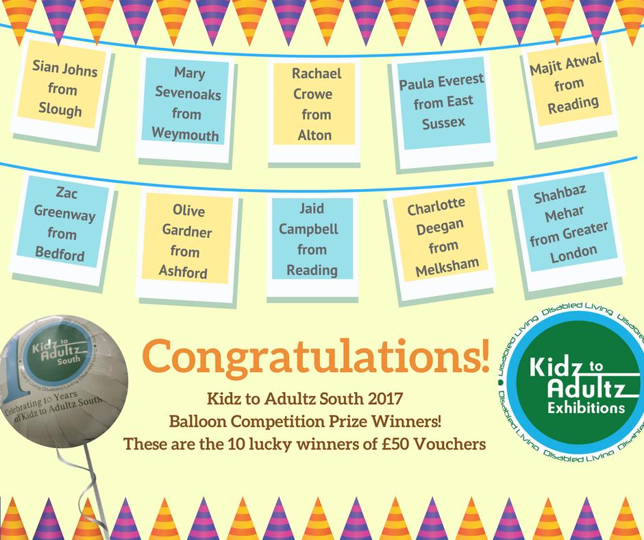 Balloon Comp Winners