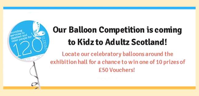 Balloons for Scotland