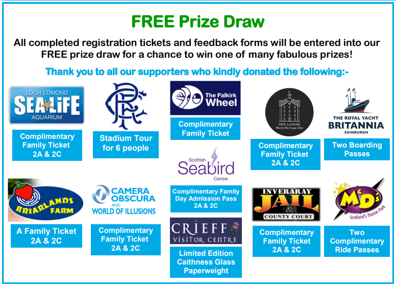 From showguide Scotland price draw 2017
