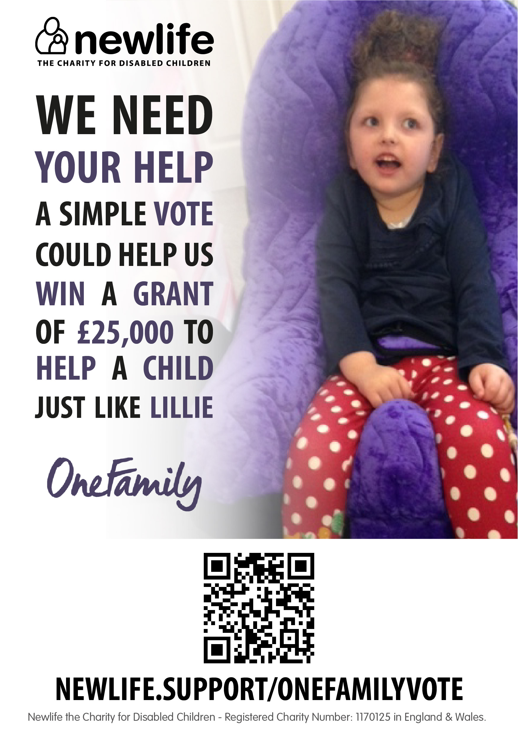 newlife charity vote