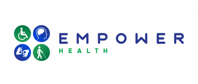 Empower health logo header