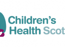 children's health scotland logo header