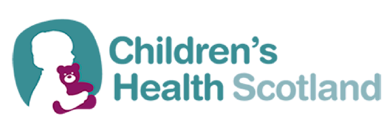 children's health scotland logo header