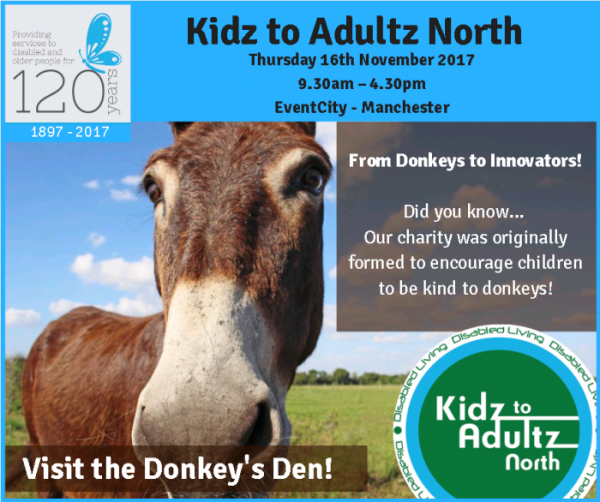 donkeys den poster to celebrate 120 years