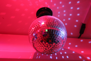 disco ball redbank house sensory room