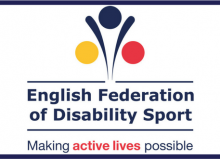 english federation of disability sport logo header