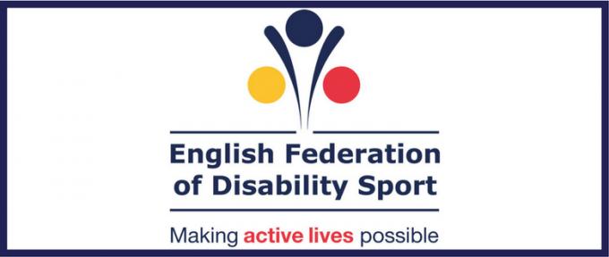 english federation of disability sport logo header