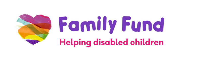 family fund logo header with tagline