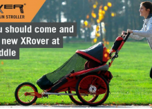 lady running with xrover product