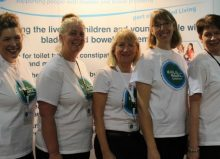 bladder and bowel uk team photoa at kidz to adultz north