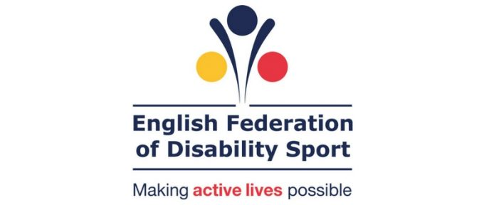 english fed of disability sport logo