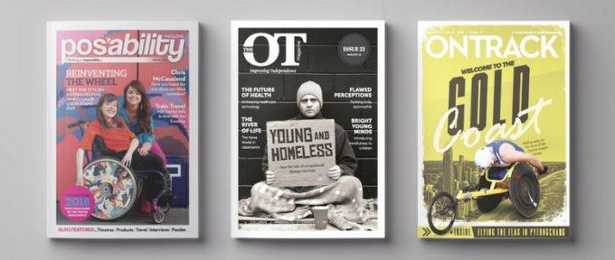 posability magazine - ot magazine - ontrack front covers