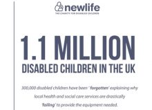 research from newlife charity graphic