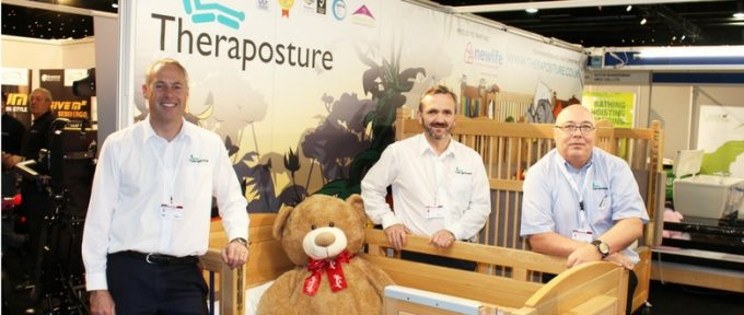 team theraposture in exhibition hall
