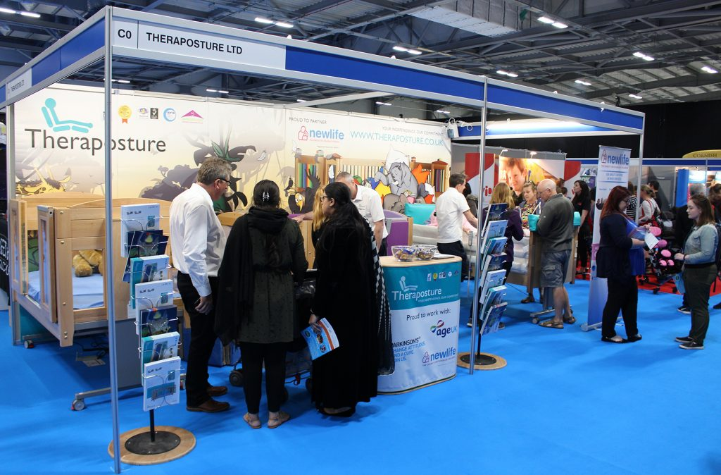 theraposture stand at kidz south 2018