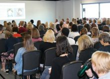 kidz south seminar room full of people