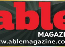 able magazine logo header