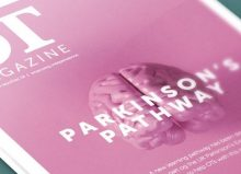 OT magazine cover with parkinsons pathways