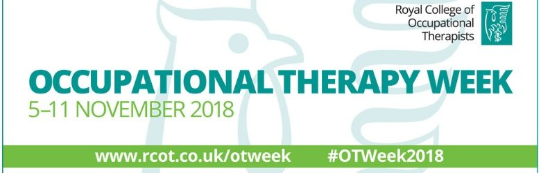 occupational therapy week 2018 banner