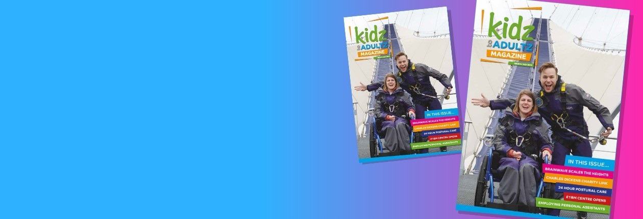 Kidz to Adultz Magazine July 2019 Website Slider