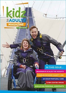Kidz to Adultz Magazine front page Olly Murs