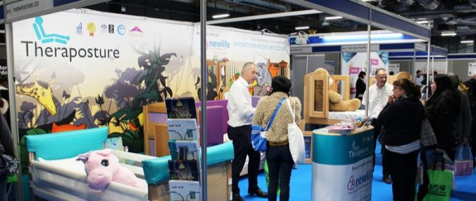 theraposture stand in exhibition hall