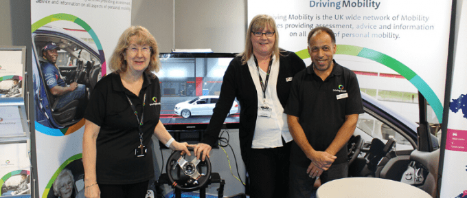 driving mobility with car simulator