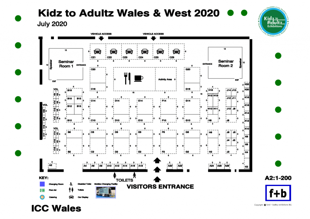 Kidz Wales and West Floorplan