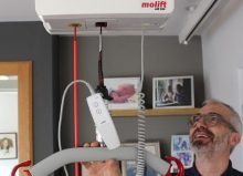colin using molift hoist system