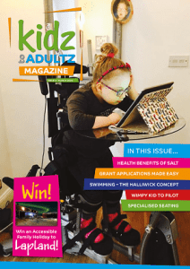 kidz to adultz march magazine cover