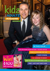 Kidz to Adultz magazine with hayley and david walliams issue 8 cover