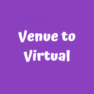 venue to virtual button