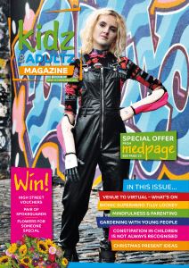 kidz to adultz magazine cover issue 10